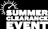Summer Clearance Event Logo