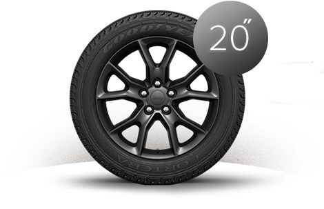 "Ruedas en Satin Carbon de 20"" del Jeep Grand Cherokee 2015"
