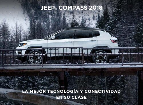 2018 Jeep Compass The Most Technology and Connectivity in its Class