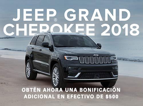 2018 Jeep GrandCherokee