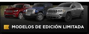 Ediciones limitadas de Jeep